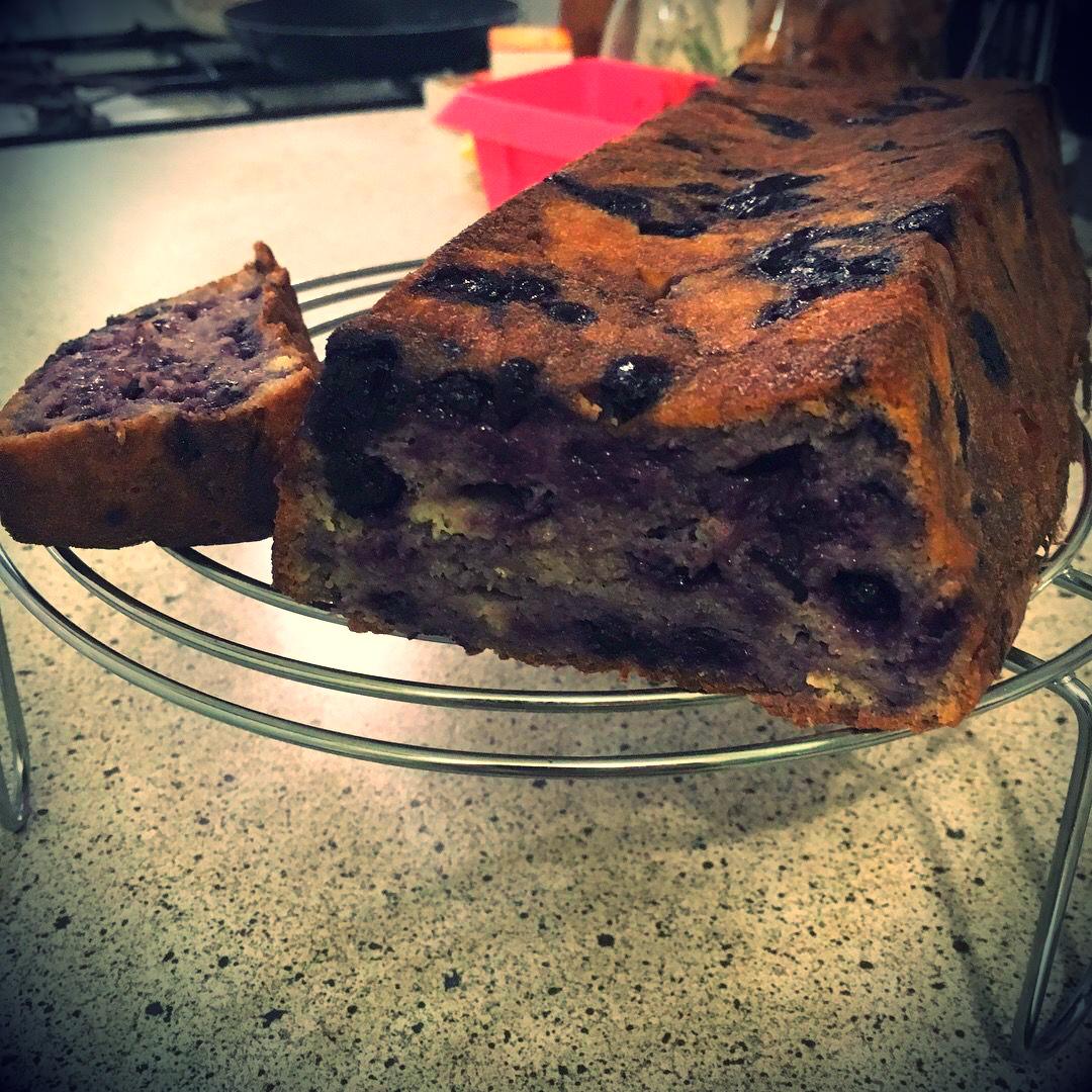 Áfonya süti receptje